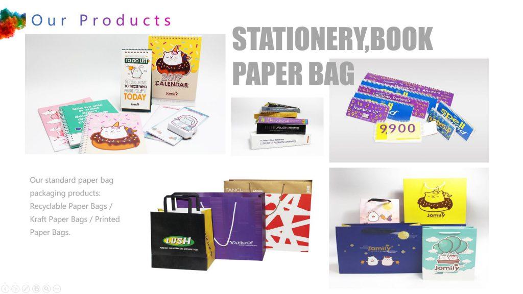 Recyclable Paper Bags Kraft Paper Bags Printed Paper Bags